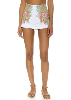 Mara Hoffman Embroidered Shorts