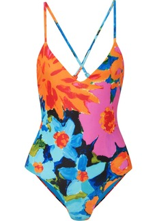 Mara Hoffman Emma Floral-print Swimsuit
