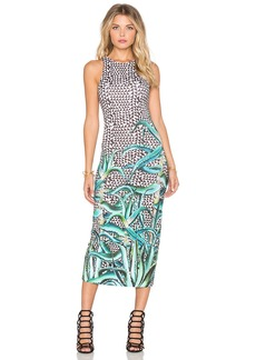 Mara Hoffman Fitted Midi Dress