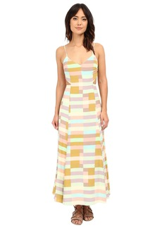 Mara Hoffman Flag Stripe Tie Dress