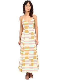 Mara Hoffman Flag Stripe Tie Dress