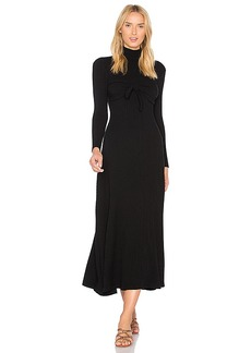 Mara Hoffman Flo Midi Dress in Black. - size M (also in L,S,XS)