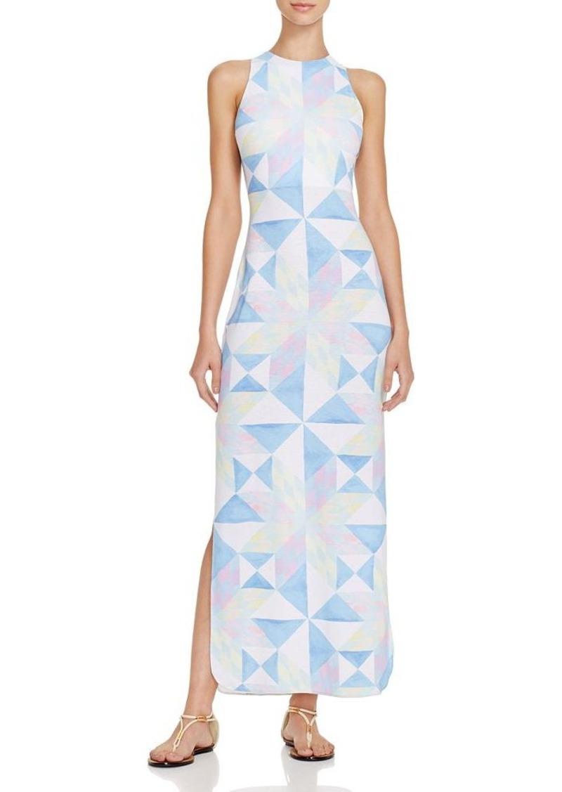 Mara Hoffman Fractals Column Dress Swim Cover Up
