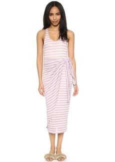 Mara Hoffman Gathered Linen Dress