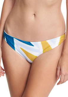 Mara Hoffman Geo-Print Classic Hipster Swim Bottom