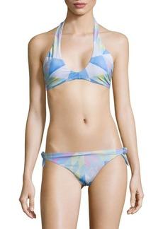 Mara Hoffman Geometric Bikini Top