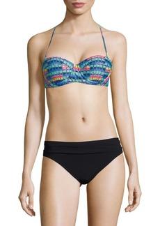 Mara Hoffman Geometric-Print Wired Bikini Top