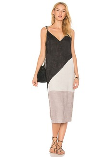 Mara Hoffman Georgia Slip Dress in Gray. - size L (also in M,S,XS)