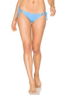 Mara Hoffman Grommet Tie Side Bottom in Blue. - size M (also in S,XS)