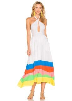 Mara Hoffman Halter Midi Dress