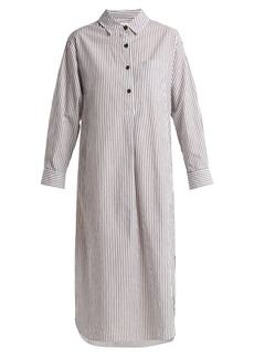 Mara Hoffman Hannah striped cotton dress