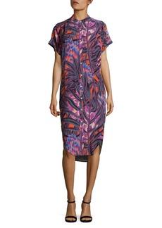 Mara Hoffman Herbarium Buttoned Shirt Dress