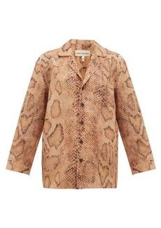 Mara Hoffman Iris snake-print shirt
