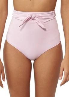 Mara Hoffman Jay High Waist Bikini Bottoms