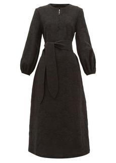 Mara Hoffman June cotton-blend midi dress
