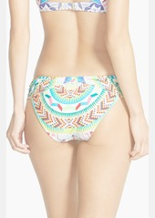 Mara Hoffman 'Jungle Trip' Ruched Side Bikini Bottoms