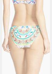 Mara Hoffman 'Jungle Trip' Ruched Side Bikini Bottoms