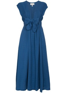 Mara Hoffman Katinka V-neck wrap organic cotton dress - Blue