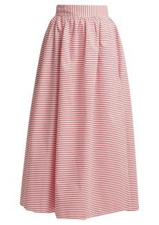Mara Hoffman Katrine cabana-stripe skirt