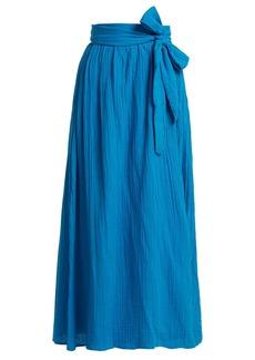 Mara Hoffman Katrine organic-cotton wrap skirt