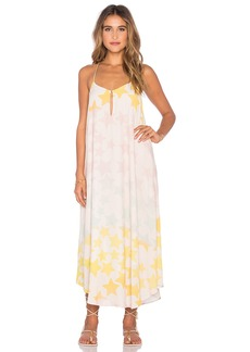 Mara Hoffman Keyhole Midi Dress