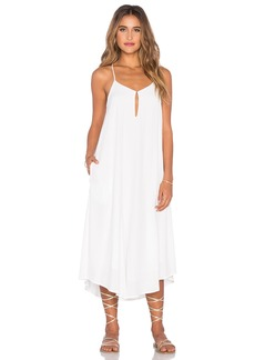 Mara Hoffman Keyhole Midi Dress