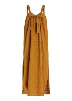 Mara Hoffman Lexi Woven Cotton Maxi Dress