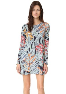 Mara Hoffman Long Sleeve Swing Dress