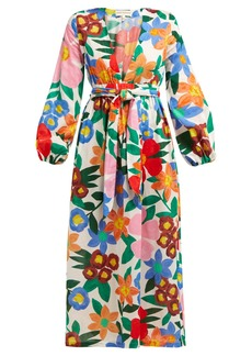 Mara Hoffman Luna floral-print V-neck maxi dress