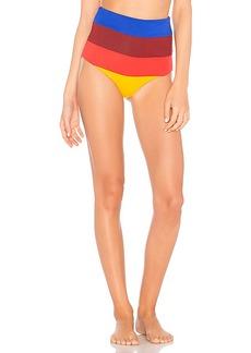 Mara Hoffman Lydia High Waist Bikini Bottom