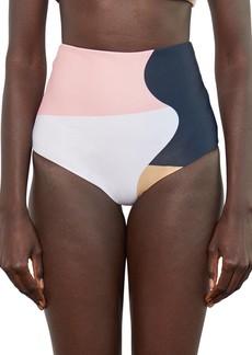 Mara Hoffman Lydia High Waist Bikini Bottoms