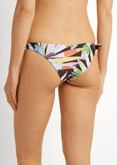 Mara Hoffman Marimba-print side-tie bikini briefs