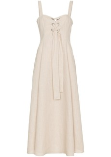 Mara Hoffman Mei Hemp Dress - Nude & Neutrals