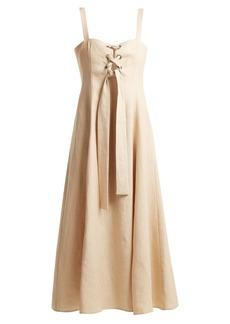 Mara Hoffman Mei lace-up dress