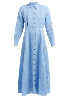 Mara Hoffman Michelle linen and cotton-blend dress