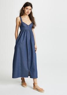 Mara Hoffman Denim Midi Dress