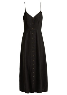 Mara Hoffman Morgan buttoned poplin dress