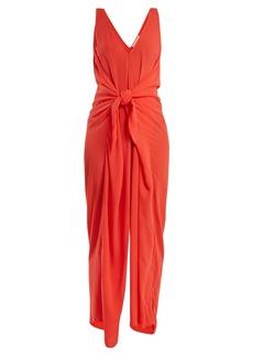 Mara Hoffman Muriel tie-waist jumpsuit