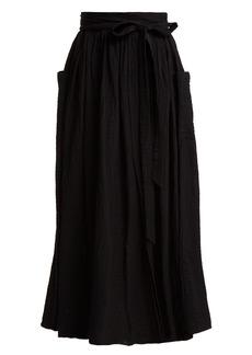 Mara Hoffman Nicola tie-waist organic-cotton skirt