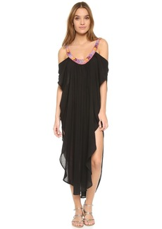 Mara Hoffman Off Shoulder Caftan