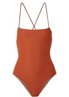 Mara Hoffman Olympia ribbed swimsuit