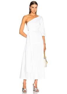 Mara Hoffman One Shoulder Dress