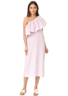 Mara Hoffman One Shoulder Midi Dress