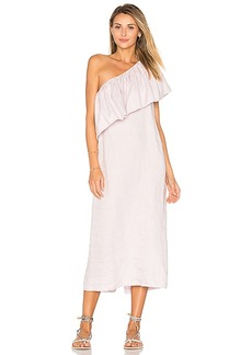 Mara Hoffman One Shoulder Midi Dress in Lavender. - size 2 (also in 4,6,8)
