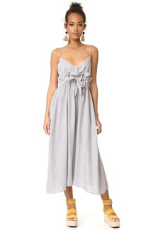 Mara Hoffman Paper Bag Waist Midi Dress