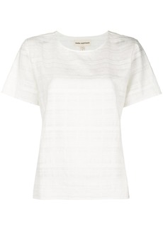 Mara Hoffman Pearl textured top - White