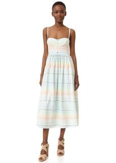 Mara Hoffman Piece & Co Bustier Dress
