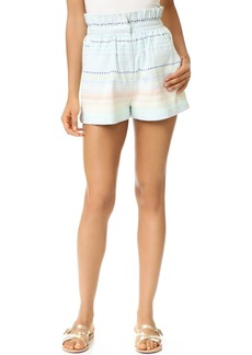Mara Hoffman Piece & Co Paper Bag Shorts