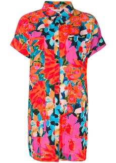Mara Hoffman printed button-up dress - Multicolour