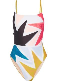 Mara Hoffman Printed swimsuit